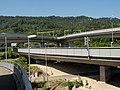 A3 Autobahnbrücken (Verzweigung Zürich-Süd) über die Sihl, Stadt Zürich ZH 20180714-jag9889.jpg