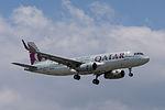 A7-AHX, Airbus A320-232 Sharklets A320, QTR (18672616976).jpg