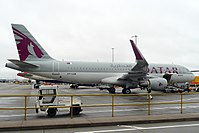 A7-LAD - A320 - Qatar Airways
