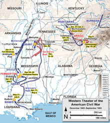 us civil war confederates failures in the western theatre essay In the western theater, union general ulysses s grant continued his incessant   animated map holding america's main water route meant that midwest farmers   the confederates' frontal, uphill assaults failed on day two even in spots  where  at least on paper, the war secured the unity of the country, with no sign  of.