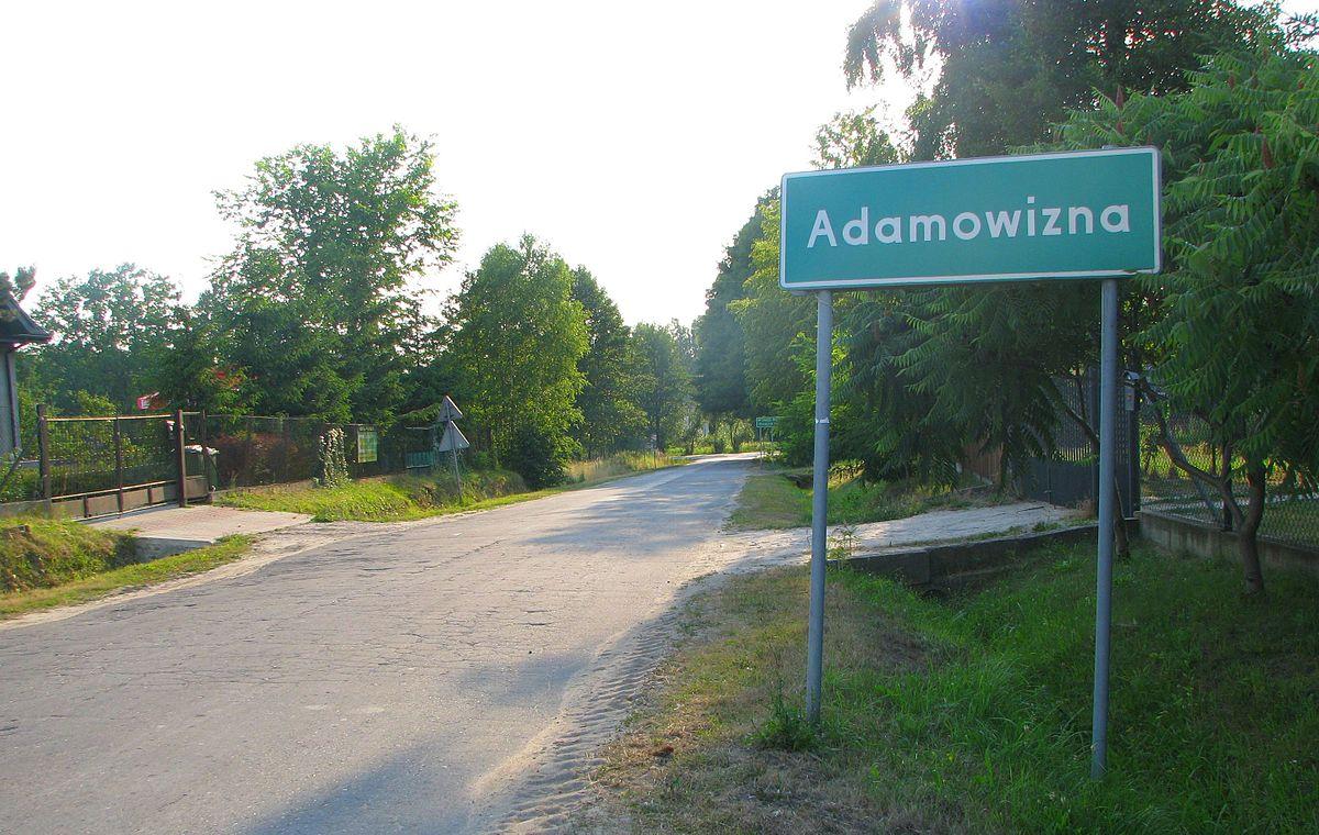 Adamowizna Masovian Voivodeship Wikipedia