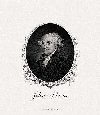 Matthew Lyon - Image: ADAMS,John President (BEP engraved portrait)