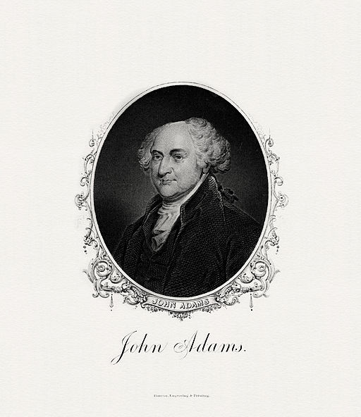 ADAMS,John-President (BEP engraved portrait)