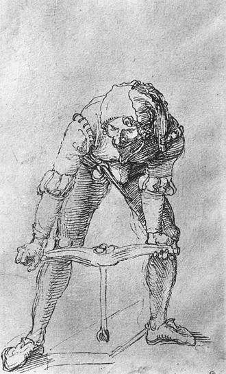 Auger (drill) - Image: A Durer Auger Bayonne