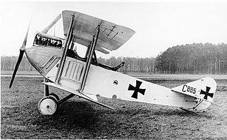 AEG C.II - Image: AEG C.II 1915