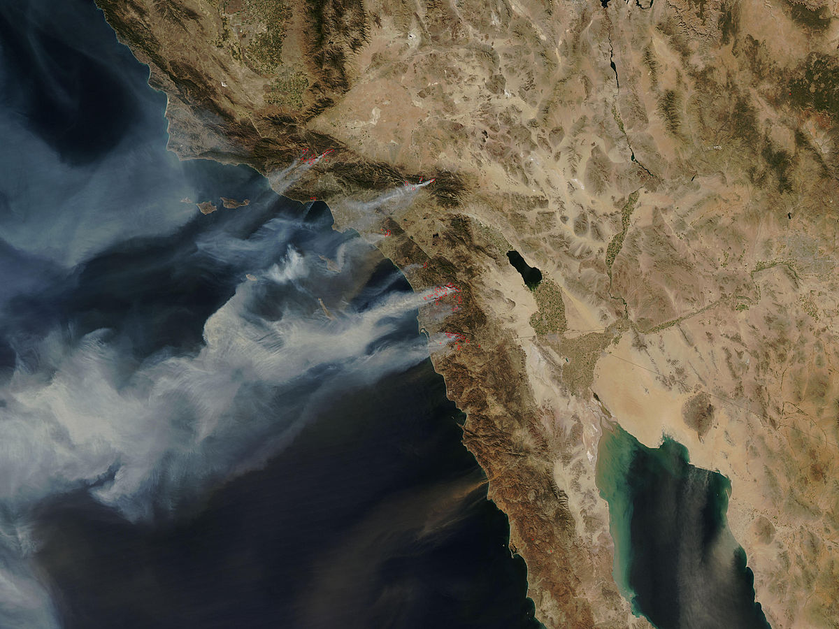 October 2007 California Wildfires Wikipedia