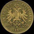 AHG aust 8 florin 1881 reverse.jpg