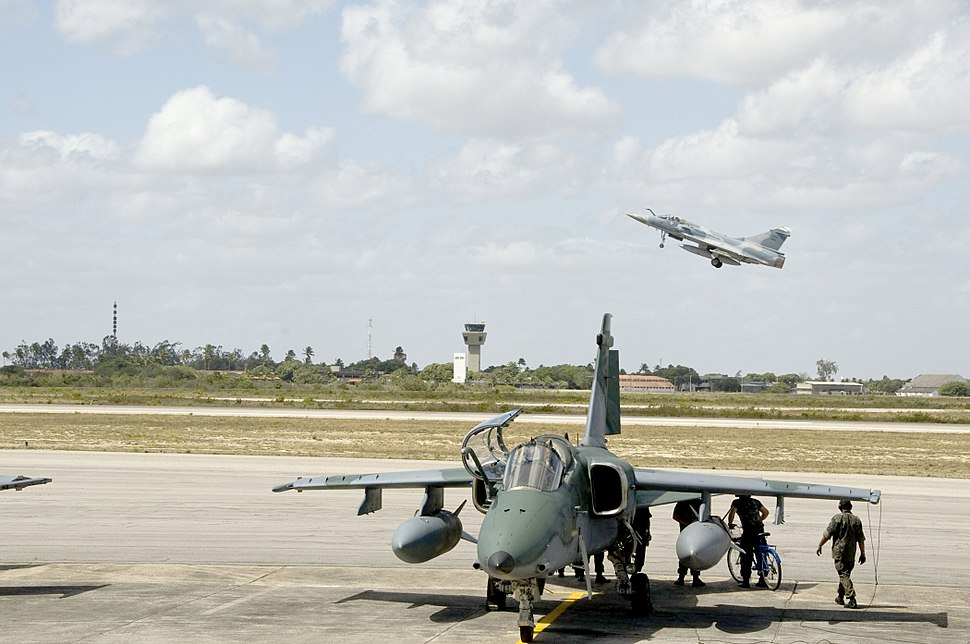AMX and Mirage 2000 of Brazil