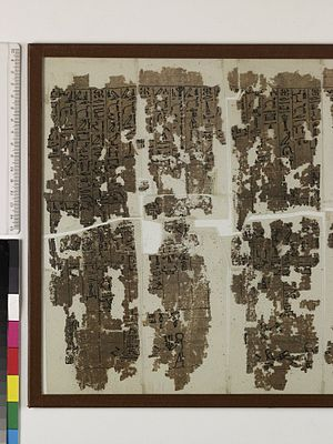 Dramatic Ramesseum Papyrus - Dramatic Ramesseum Papyrus