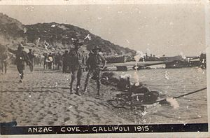 And the Band Played Waltzing Matilda - ANZAC Cove, Gallipoli, 1915