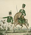 A Light Infantry Man and Huzzar of the Queen's Rangers, ca 1780.jpg