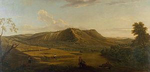 George Lambert (English painter) - A view of Box Hill, Surrey, 1733