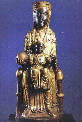 Virgin of Montserrat - Image: A Virgem de Mont Serrat