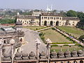 A bird's eye view of the bara imambara premises , lucknow.JPG