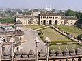 A bird's eye view of the bara imambara premises , lucknow.JPG