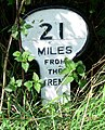 A mile marker along the Grantham Canal - geograph.org.uk - 963101.jpg