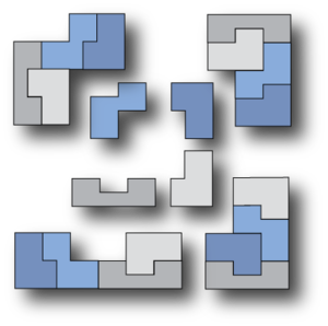 Self-tiling tile set - Image: A setiset with duplicated piece