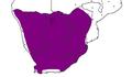 Aardwolf verspreiding in Suider-Afrika.PNG