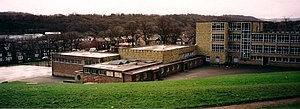 Abbeydale Grange School - Former Lower School site (near the Tesco in Abbeydale) in January 1999