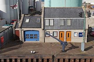 Aberdeen Lifeboat Station lifeboat station on the East coast of Scotland, UK