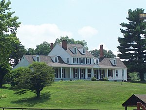 National Register of Historic Places listings in Anne Arundel County, Maryland - Image: Abington Farm Jul 09