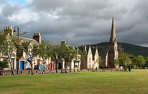 Aboyne - Image: Aboyne, the Green and Charlestown Road