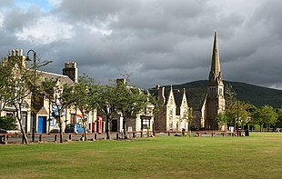 The Green in Aboyne