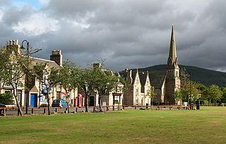 Aboyne Human settlement in Scotland