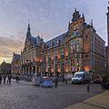 Academiegebouw Groningen bij zonsondergang.jpg