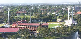 Adelaide Oval - View of the Oval in 2006, prior to the stadium's redevelopment