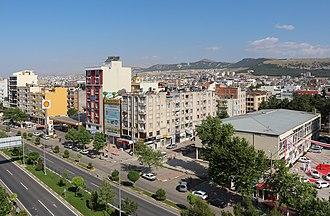 Adıyaman - Atatürk Boulevard in Adiyaman