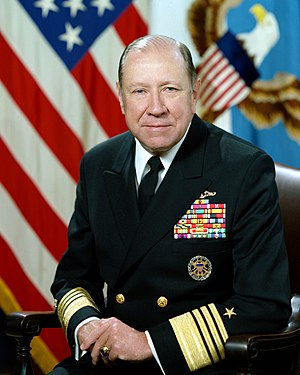 William J. Crowe - Image: Adm William Crowe Jr