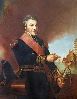 Sir William Parker, 1st Baronet, of Shenstone - Portrait of Admiral Sir William Parker