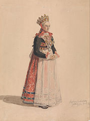 Ingeborg Andresdatter Gulsvik as Bride