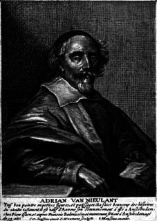Adriaen van Nieulandt Dutch painter