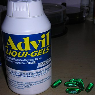 Capsule (pharmacy) - Advil liqui-gels