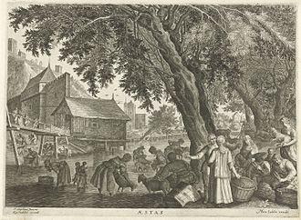 Aegidius Sadeler - Summer, after Pieter Stevens II