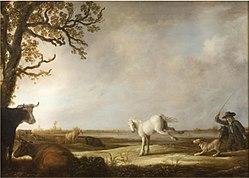 Aelbert Cuyp: Kicking Horse