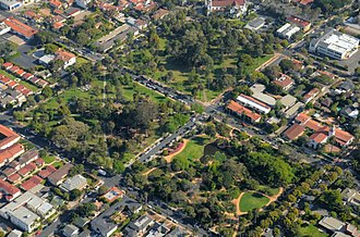 Alameda Park - Image: Aerial Alameda Park SB 0269 b