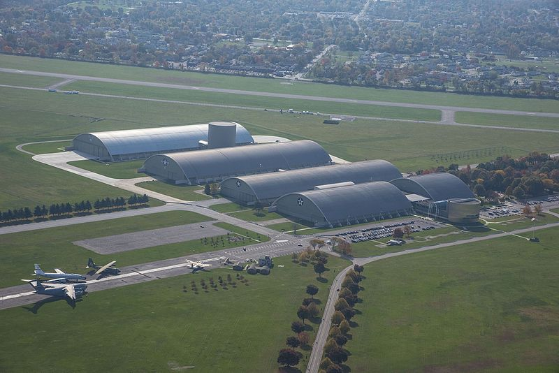 File:Aerial view of the National Museum of the U.S. Air Force 1.jpg