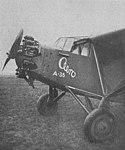Aero A-35, prototyp s motorem Wright Whirlwind J-6 (1928).jpg