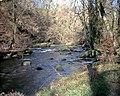 Afon Dwyfor above Llanystumdwy - geograph.org.uk - 341186.jpg