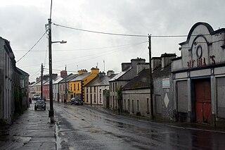 Ahascragh village in Connacht, Ireland