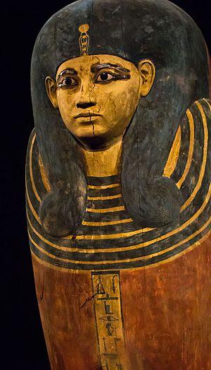 Ahmose-Meritamun - Ahmose-Meritamun's inner coffin.