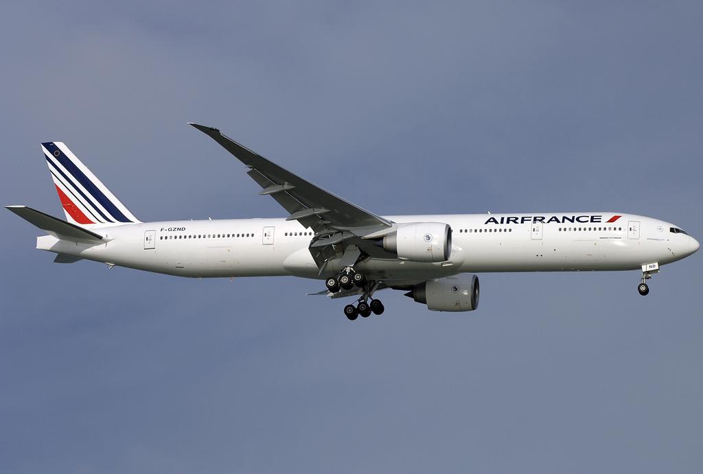 File air france boeing 777 300er f gznd sin 2009 5 for Interieur 777 air france