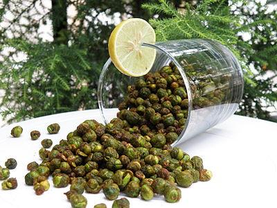Air fried masala green peas.JPG