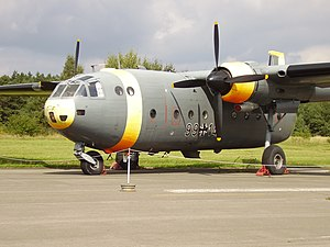 Nord Noratlas - Nord 2501 Noratlas at the Airforce Museum of the Bundeswehr, Berlin-Gatow