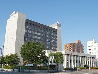Akita Bank - Akita Bank head office