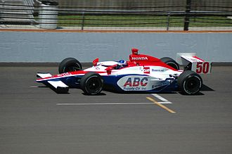 Al Unser Jr. - Unser practicing for the 2007 Indianapolis 500