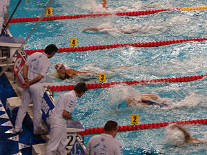 2008 European Aquatics Championships - Alain Bernard breaks the 100 m freestyle WR